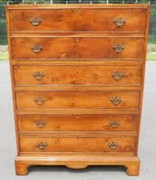 Walnut Secretaire Chest of Drawers / Writing Desk - SOLD